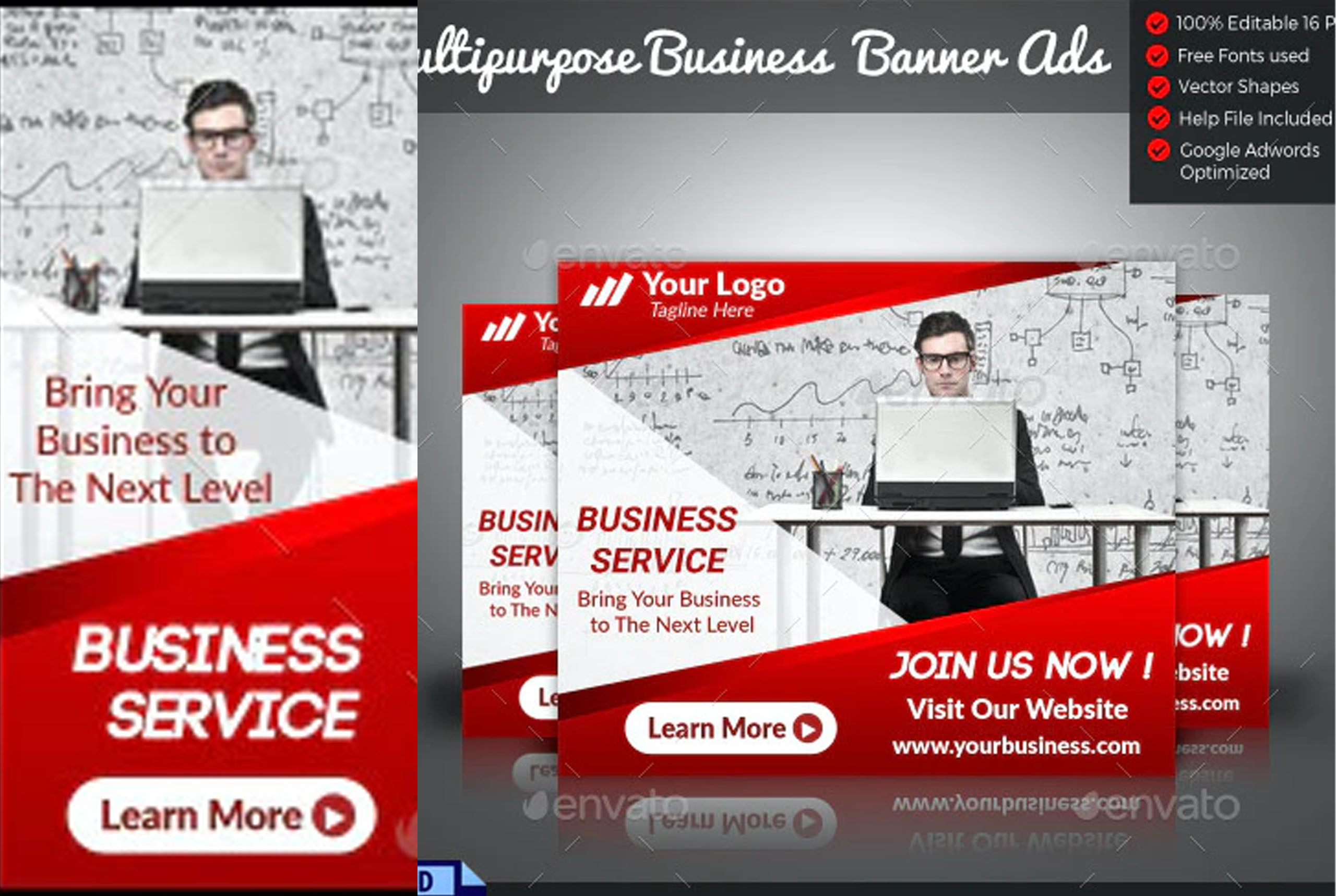 Free Business Banner Ads Templates